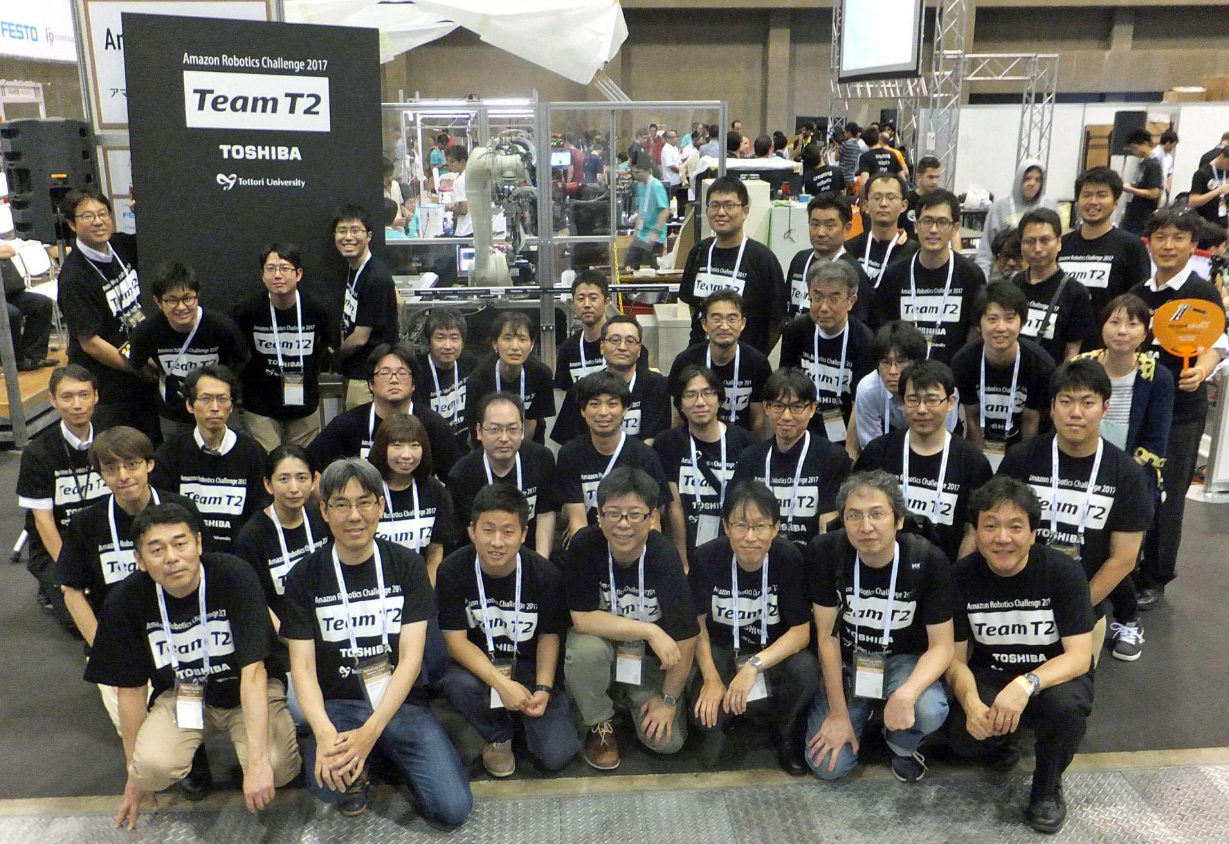 Group Photo of Team T2
