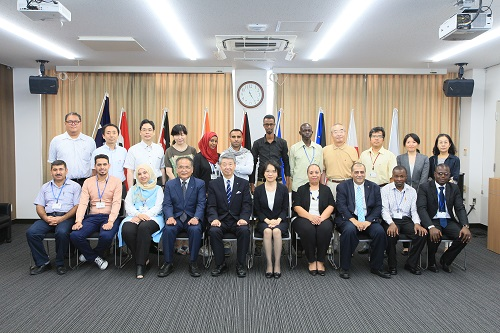 Group Photo of JICA Group Training Course